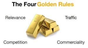 Die 4 Goldenen Regeln zum Affiliate Erfolg